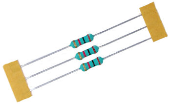 1000 ohm 1 Watt Metal Oxide Resistor - 20 PACK