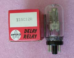 Amperite 115C120 115C12O Time Delay Relay