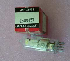 Amperite 26NO45T 26N045T Time Delay Relay