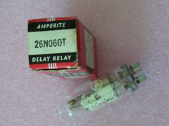 Amperite 26NO60T 26N060T Time Delay Relay