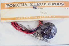 Pomona 2712A Color Cathode Current Test Adapter for 6JS6 / 6JM6