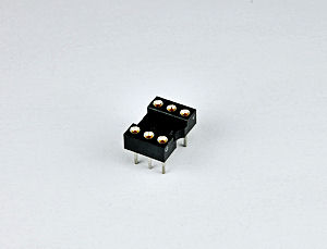 6 Pin Machine Pin IC Socket