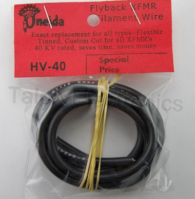 Filament Wire for Flyback Transformers - 40KV