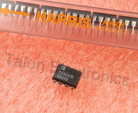 CA3080E Transconductance Amplifier Integrated Circuit