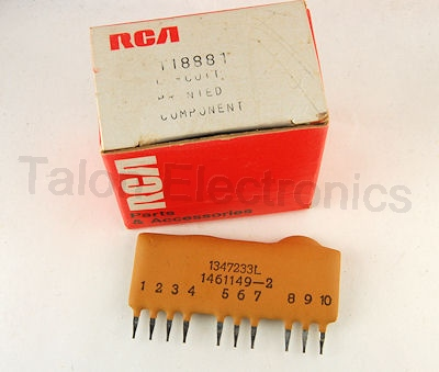 RCA - TCE 118881 Circuit Printed Component / Couplate
