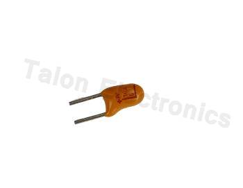 10uF 6.3V Radial Tantalum Capacitor PC Leads (Pkg of 5)