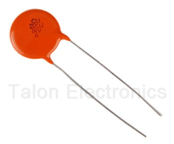 220pf 1KV Ceramic Disc Capacitor