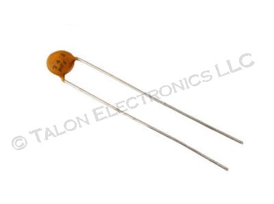 2200pf  100V Ceramic Disc Capacitor