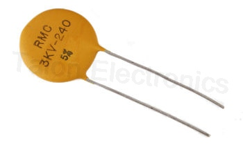 240pf 3KV Ceramic Disc Capacitor