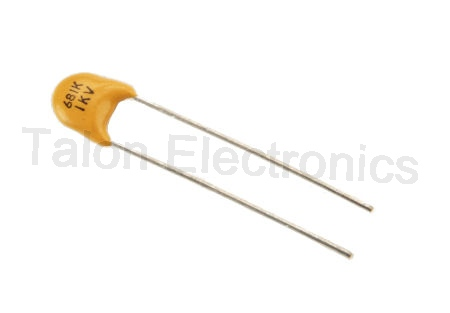 680pf 1KV Ceramic Disc Capacitor