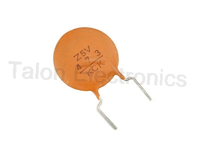 0.047uF 50V Ceramic Disc Capacitor - 12 pack