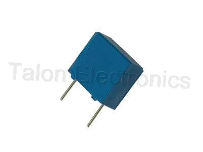 .033uF  /  100VDC radial film box capacitor