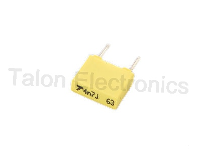 .0047uf /  63VDC radial film box capacitor
