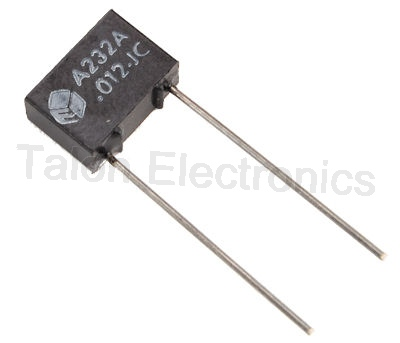 .012uF / 200VDC Radial Metallized Polyester Box Capacitor