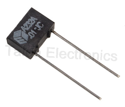 .01uF / 200VDC Radial Metallized Polyester Box Capacitor