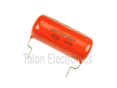 .022uF /1600V  Orange Drop film capacitor