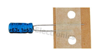 1uF  63V Radial Electrolytic Capacitor