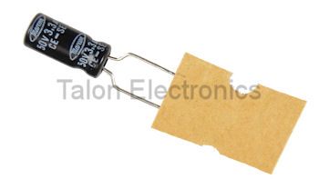 3.3uF  50V Radial Electrolytic Capacitor