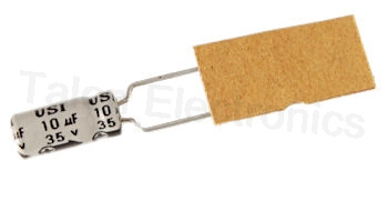 10uF  35V Radial Electrolytic Capacitor