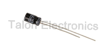 10uF  16V Radial Electrolytic Capacitor