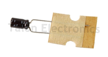 1uF  63V Miniature Radial Electrolytic Capacitor  (Pkg of 10)