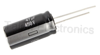 47uF 450V Radial Electrolytic Capacitor  / 105 Degree