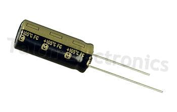 1800uF  6.3V Radial Electrolytic Capacitor
