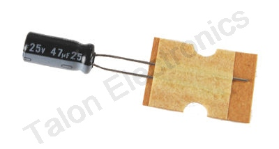 47uF  25V  Radial Electrolytic Capacitor PACK of 20