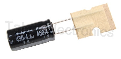 4.7uF 450V Radial Electrolytic Capacitor