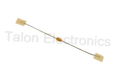33pf 100V Coated Ceramic Axial Lead Capacitor