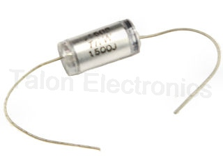 1500pf, 160V 5% Axial Lead Polystyrene Capacitor