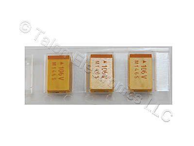 1uF 35V Surface Mount Tantalum Capacitor Case A (Pkg of 6)