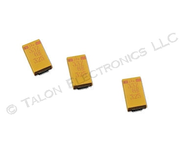 330uF 6V Surface Mount Tantalum Capacitor  - Case D (Pkg of 3)