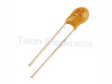 4.7uF 25V Dipped Radial Tantalum Capacitor (Pkg of 3)