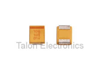 10uF 10V Surface Mount Tantalum Capacitor Size B (Pkg of 10)