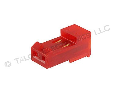 "AMP 3-641219-2 IDC 0.156"" 2 Pin Connector (6/Pkg)"