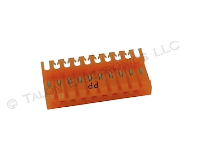 "AMP 4-640599-0 IDC 0.156"" 10 Pin Connector (Pkg of 4)"