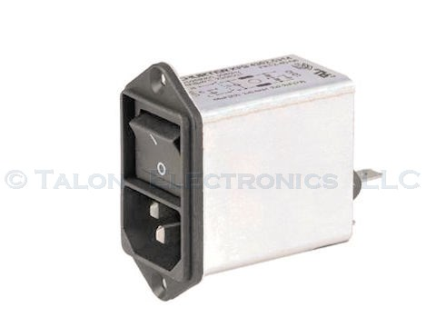Schurter KFB 4A Filtered Switched IEC Receptacle