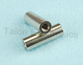 "0.75"" Long 6-32 Threaded Round Standoff, .250"""
