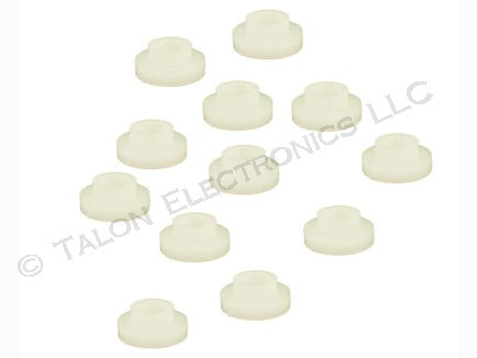 #4 Nylon Flanged Washer PACK of 12