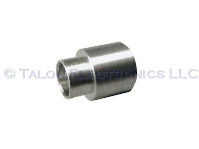 "0.250"" Long 4-40 Threaded Round Swage Standoff, 0.250"" Diameter (Pkg of 4)"