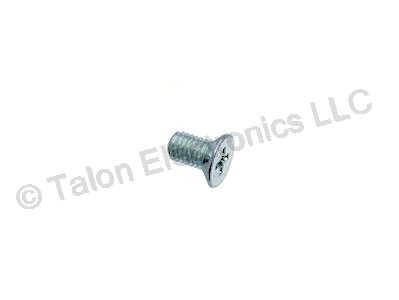 M2.5 X 5 mm Steel Phillips Flat Head Machine Screw - 10 pack