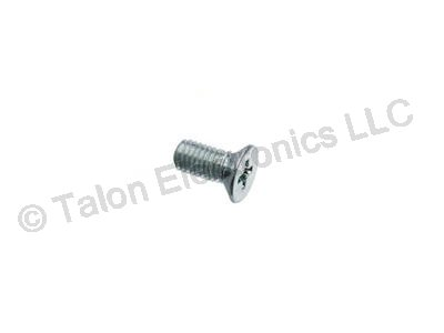 M2.5 X 6mm Steel Phillips Flat Head Machine Screw - 10 pack