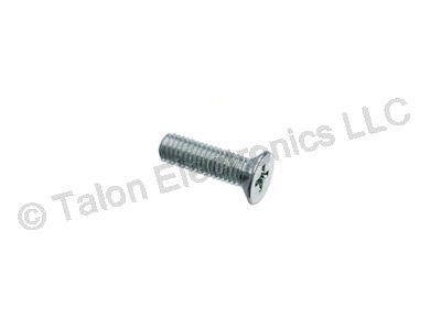 M2.5 X 10mm Steel Phillips Flat Head Machine Screw - 8 pack
