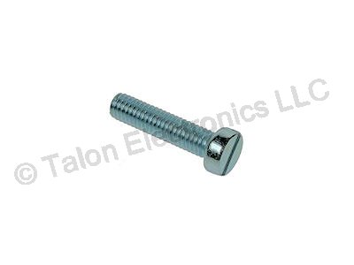 M2 X 8mm Steel Slotted  Cheesehead Machine Screw - 8 pack