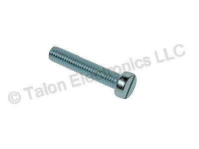 M2.5 X 14mm Steel Slotted Cheesehead Machine Screw - 8 pack