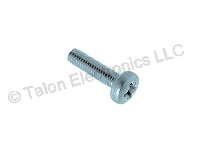 M2.5 X 7.5mm Steel Pozidriv Round Head Screw - 24 pack