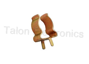 "0.250"" Augat Component Clamp - Price is for 10 Pieces"