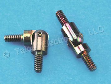 "0.500"" Long 6-32 Threaded  Swivel Standoff, .250"""