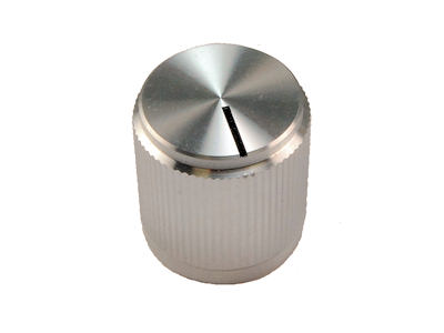 "Aluminum Knob With Index Line for .250"" Shafts KB-700A"
